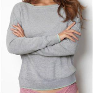 Victoria's Secret Cashmere Blend Scoopneck Sweater